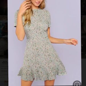 Flirty Casual Floral Dress